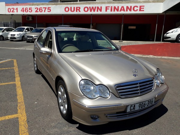 2004 Mercedes-Benz C-Class C200k Elegance At  Western Cape Cape Town_0
