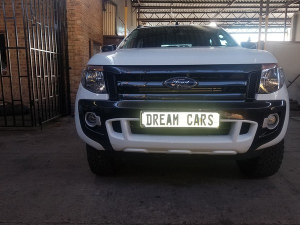 2014 Ford Ranger 3.2tdci Xls 4x4 At Pu Supcab  Gauteng Johannesburg_0