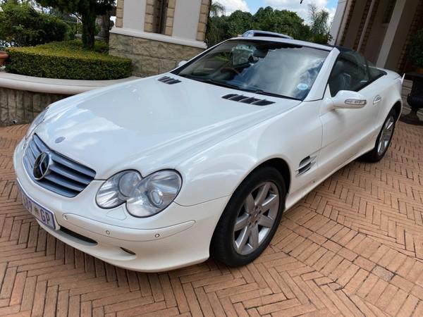 2004 Mercedes-Benz SL-Class Sl 500 Roadster 7sp  Gauteng Pretoria_0