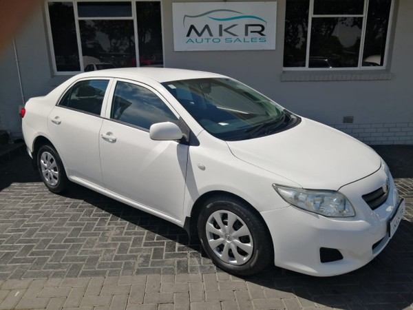 2009 Toyota Corolla 1.6 Professional  Eastern Cape Port Elizabeth_0