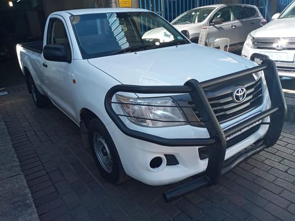 2013 Toyota Hilux 2.0 Vvti Pu Sc  Gauteng Johannesburg_0