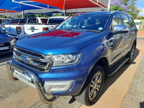 2018 Ford Everest 2.2 TDCi XLT Auto Gauteng Bramley_0