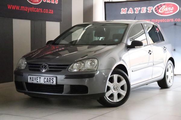 2009 Volkswagen Golf 1.6 Trendline  Mpumalanga Delmas_0
