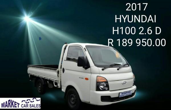 2017 Hyundai H100 Bakkie 2.6d Fc Ds  Gauteng Johannesburg_0