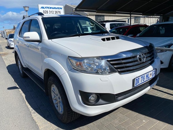 2014 Toyota Fortuner 3.0d-4d Rb At  Western Cape Hermanus_0