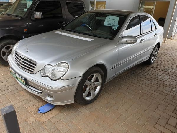 2007 Mercedes-Benz C-Class C200k Avantgarde At  Free State Bloemfontein_0