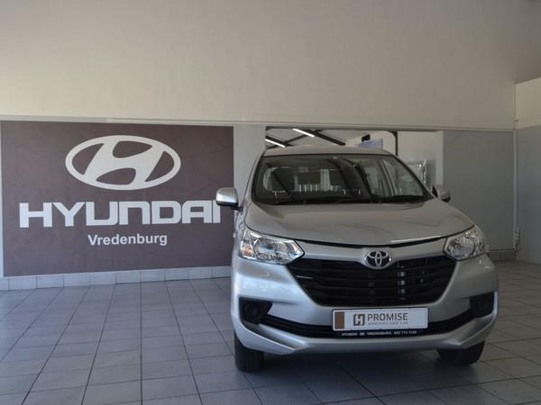 2019 Toyota Avanza 1.5 SX Auto Western Cape Vredenburg_0