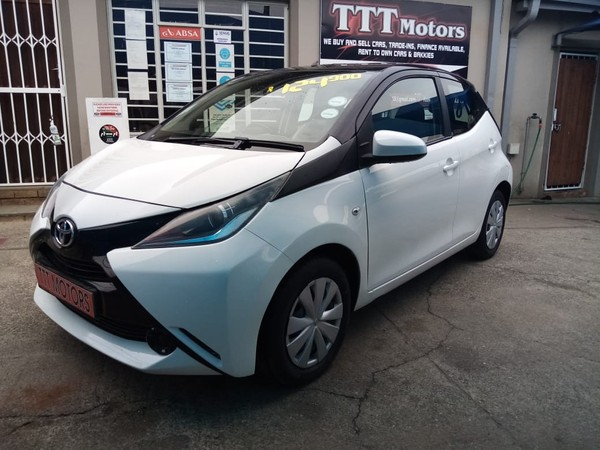 2017 Toyota Aygo 1.0 X- PLAY 5-Door North West Province Rustenburg_0