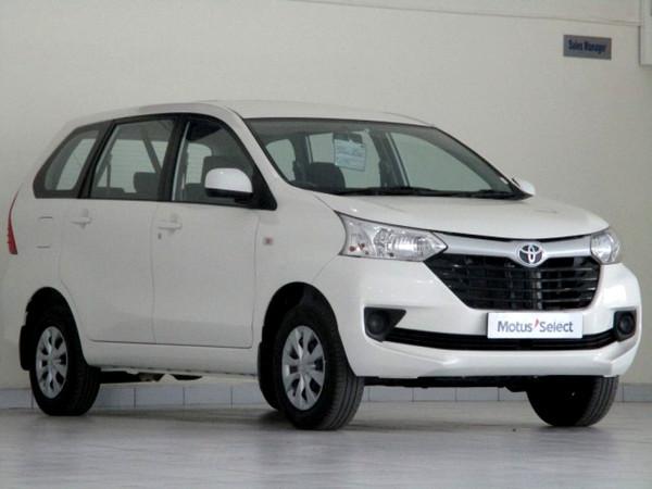2019 Toyota Avanza 1.5 SX Western Cape George_0