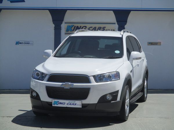 2013 Chevrolet Captiva 2.4 Lt 4x4  Eastern Cape Port Elizabeth_0