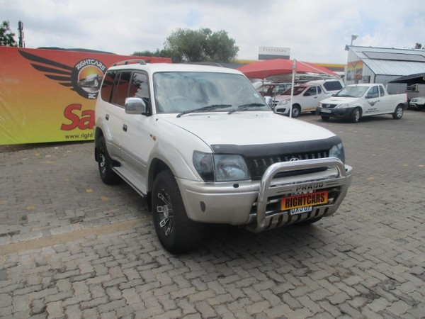 1998 Toyota Prado Vx 3.0d 8 Seat  Gauteng North Riding_0
