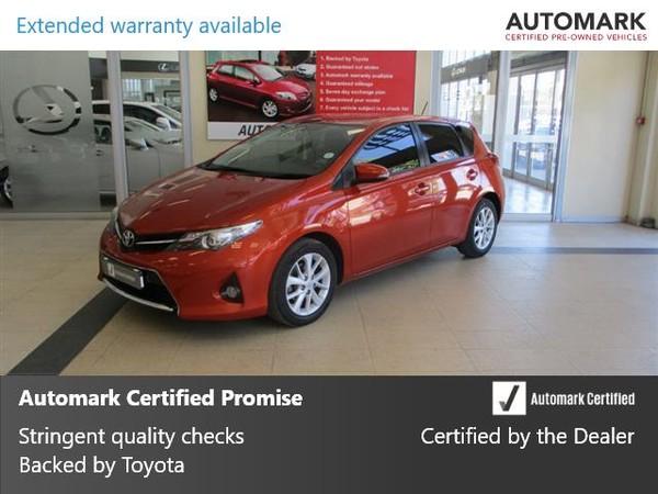 2013 Toyota Auris 1.6 Xs  Western Cape Cape Town_0