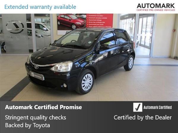 2013 Toyota Etios 1.5 Xs 5dr  Western Cape Cape Town_0