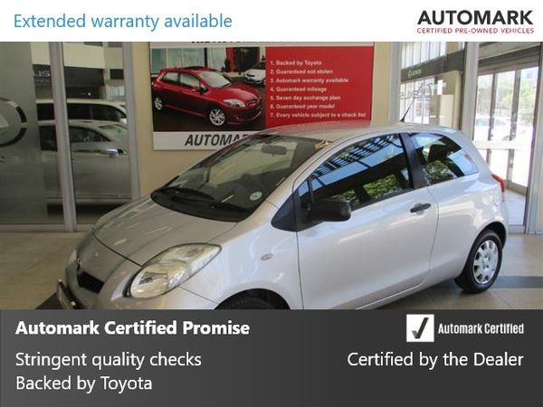2009 Toyota Yaris T1 3dr Ac  Western Cape Cape Town_0