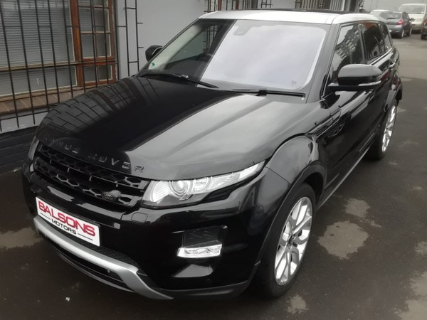2013 Land Rover Evoque 2.2 SD4 Dynamic Kwazulu Natal Durban_0