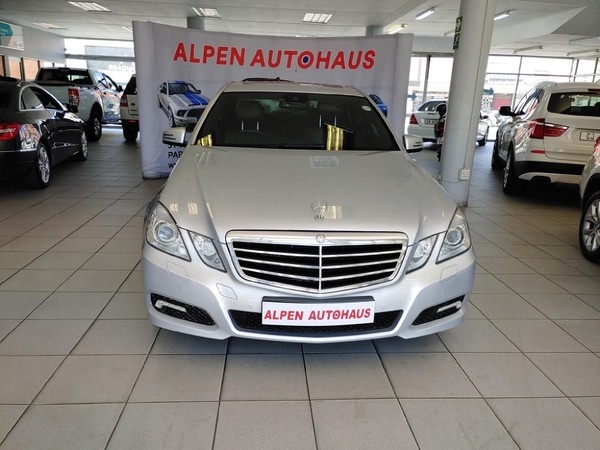 2009 Mercedes-Benz E-Class E 500 Avantgarde  Western Cape Parow_0