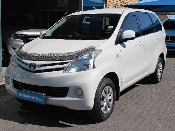 2015 Toyota Avanza Toyota Avanza 1.5 Sx  Western Cape Bellville_0