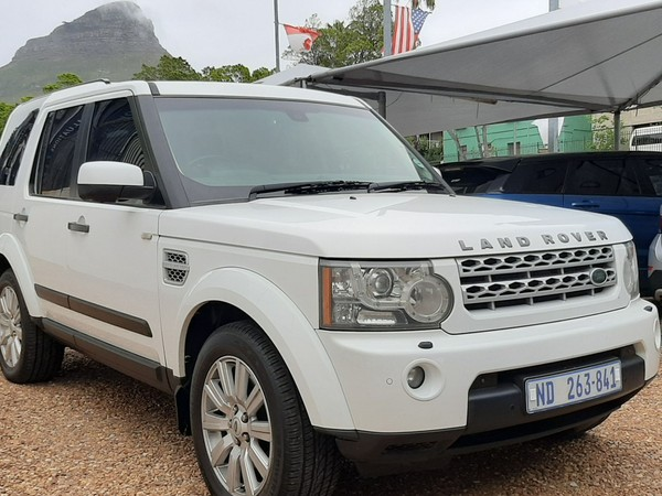2012 Land Rover Discovery 4 5.0 V8 Hse  Western Cape Cape Town_0