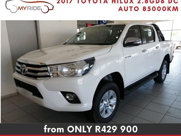2017 Toyota Hilux 2.8 GD-6 RB Raider Double Cab Bakkie Western Cape Vredenburg_0