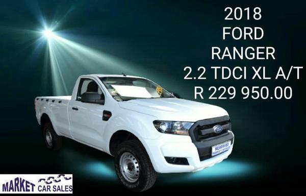 2018 Ford Ranger 2.2TDCi XL Auto Single Cab Bakkie Gauteng Johannesburg_0