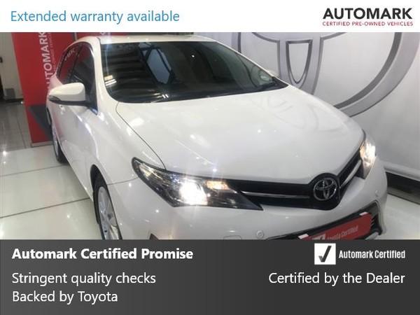 2015 Toyota Auris 1.6 Xr Cvt  Gauteng Johannesburg_0
