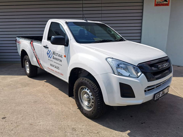 2020 Isuzu D-MAX 250 HO Fleetside Single Cab Bakkie Mpumalanga Barberton_0