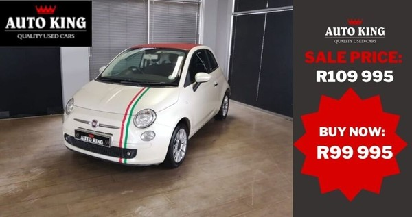 2012 Fiat 500 1.2 Cabriolet  Western Cape Cape Town_0