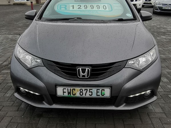 2012 Honda Civic 1.8 Executive 5dr  Eastern Cape Port Elizabeth_0