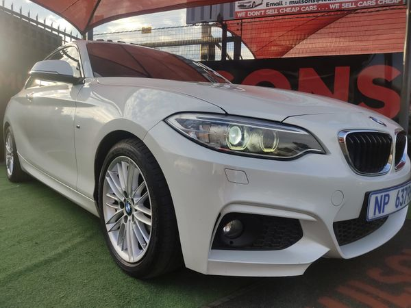 2016 BMW 2 Series 220D M Sport Auto Gauteng Boksburg_0