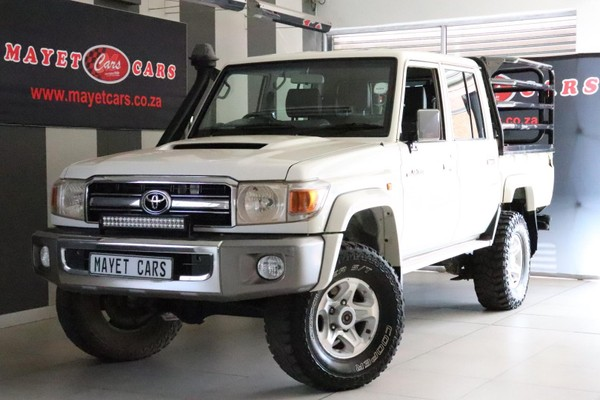 2015 Toyota Land Cruiser 70 4.5D Double cab Bakkie Mpumalanga Delmas_0