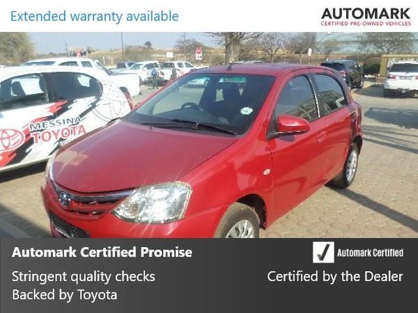 2014 Toyota Etios 1.5 Xs 5dr  Limpopo Messina_0