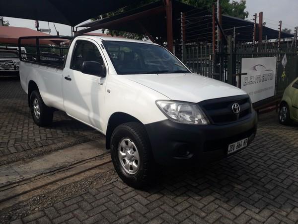 2008 Toyota Hilux 2.5 D-4d Srx 4x4 Pu Sc  Mpumalanga Nelspruit_0