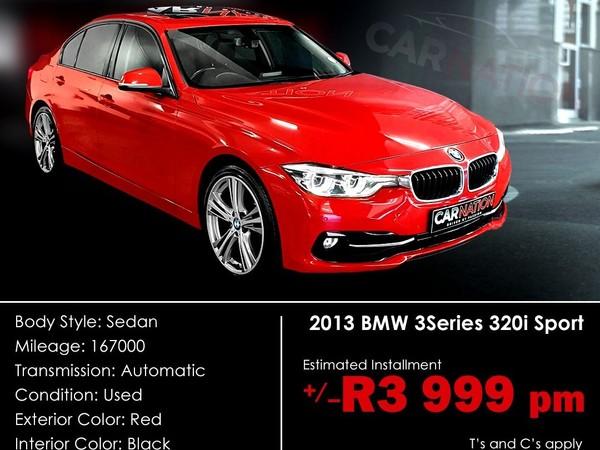 2013 BMW 3 Series 320i Sport Line At f30  Western Cape Goodwood_0