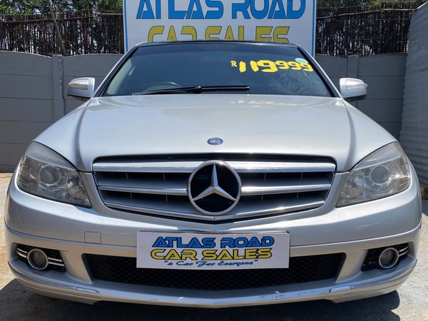 2009 Mercedes-Benz C-Class C320 Cdi Avantgarde At  Gauteng Benoni_0