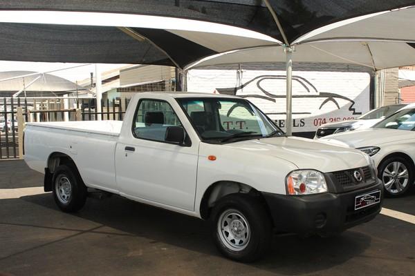 2013 Nissan NP300 Hardbody 2.0i LWB k08k37 Bakkie Single cab Gauteng Johannesburg_0