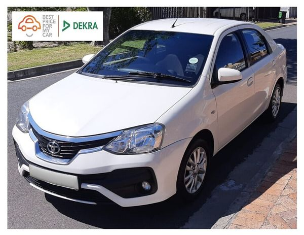 2017 Toyota Etios 1.5 Xs  Western Cape Goodwood_0