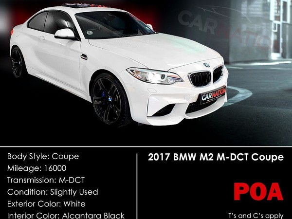 2017 BMW M2 M2 Coupe M-DCT Western Cape Goodwood_0