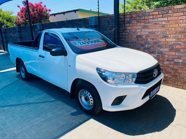 2017 Toyota Hilux 2.4 GD AC Single Cab Bakkie Gauteng Pretoria_0