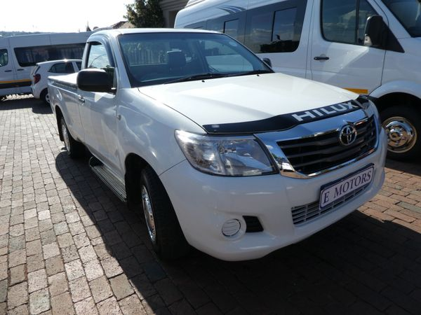 2011 Toyota Hilux 2.0 Vvti S Pu Sc  Gauteng Bramley_0