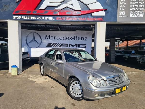 2006 Mercedes-Benz E-Class E 200k  Gauteng Kempton Park_0