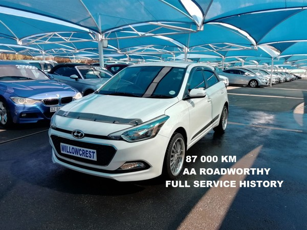 2016 Hyundai i20 1.4 Fluid Gauteng Randburg_0
