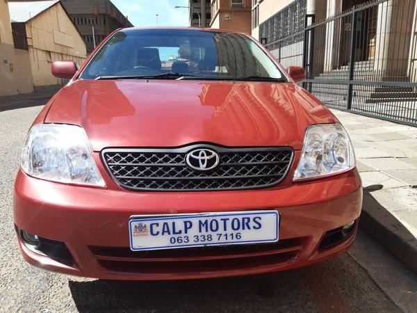 2005 Toyota Corolla 160i Gle  Gauteng Marshalltown_0