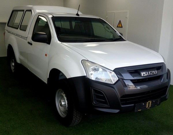 2020 Isuzu D-MAX 250 HO Fleetside Safety Single Cab Bakkie Gauteng Kempton Park_0