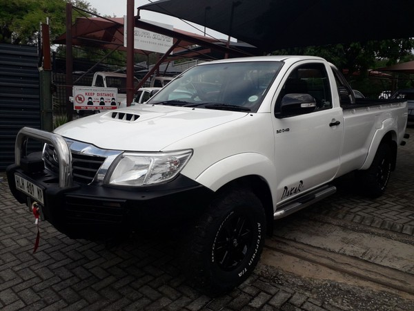 2014 Toyota Hilux 3.0 D-4D 4X4 LEGEND 45 Single Cab Bakkie Mpumalanga Nelspruit_0