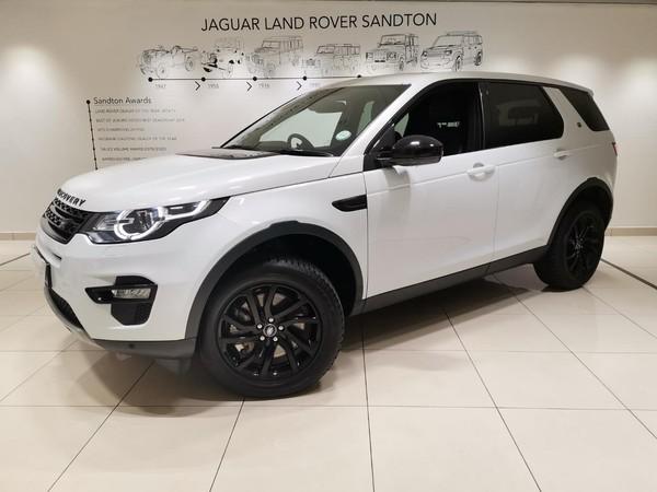 2019 Land Rover Discovery Sport SPORT 2.0i4 D HSE Gauteng Rivonia_0