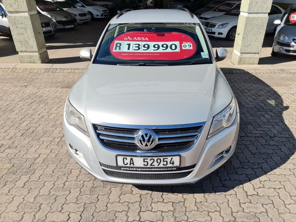 2009 Volkswagen Tiguan 1.4 Tsi Trend-fun 4mot  Western Cape George_0