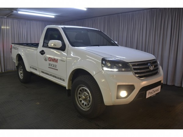 2020 GWM Steed 5 2.0 WGT Workhorse Single Cab Bakkie Gauteng Roodepoort_0