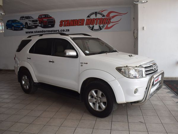 2010 Toyota Fortuner 3.0d-4d Rb At  Gauteng Nigel_0