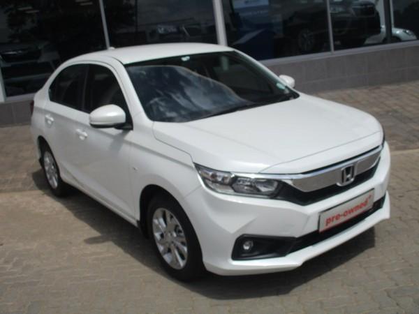 2020 Honda Amaze 1.2 Comfort CVT Gauteng Roodepoort_0