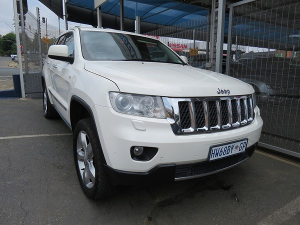 2012 Jeep Grand Cherokee 3.6 Overland  Gauteng Johannesburg_0